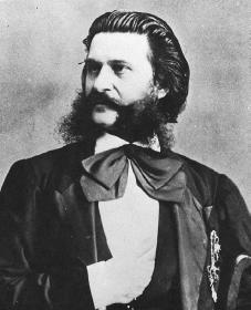 Johann Strauss. Courtesy of the Library of Congress.