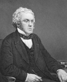 William Makepeace Thackeray. Courtesy of the Library of Congress.