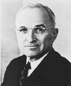 Harry S. Truman. Courtesy of the Library of Congress.