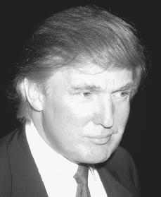 Donald Trump. Reproduced by permission of Archive Photos, Inc.