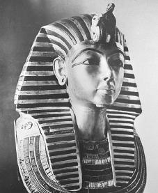 Tutankhamen. Courtesy of the Library of Congress.