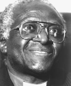 Desmond Tutu. Reproduced by permission of AP/Wide World Photos.