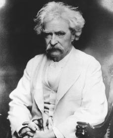 Mark Twain. Reproduced by permission of AP/Wide World Photos.