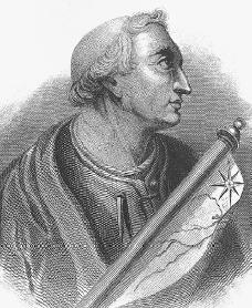 Amerigo Vespucci. Courtesy of the Library of Congress.