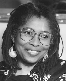 Alice Walker. Reproduced by permission of AP/Wide World Photos.