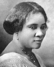 Madame C. J. Walker. Reproduced by permission of the Granger Collection.