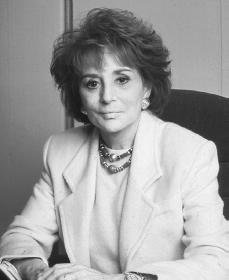 Barbara Walters. Reproduced by permission of Archive Photos, Inc.