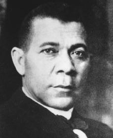 Booker T. Washington. Reproduced by permission of the Fisk University Library.