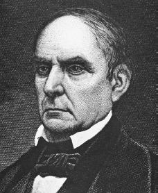 Daniel Webster. Courtesy of the Library of Congress.