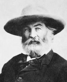 Walt Whitman. Courtesy of the National Archives and Records Administration.