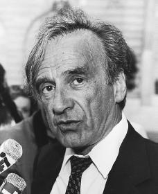 Elie Wiesel. Reproduced by permission of AP/Wide World Photos.