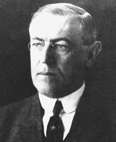 Woodrow Wilson. Courtesy of the Library of Congress.