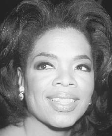 Oprah Winfrey. Reproduced by permission of Archive Photos, Inc.