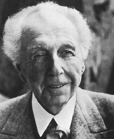 Frank Lloyd Wright. Reproduced by permission of Archive Photos, Inc.