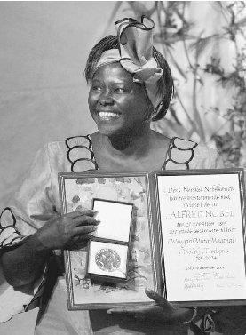 Wangari Maathai dies