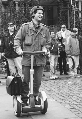 the innovation of the segway Give inventor dean kamen this: he's a master of buzz a closely guarded secret that was supposed to change the world upon its release in 2001, the segway never brought about its promised revolution in.